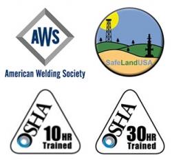 Welding Certifications AWS OSHA